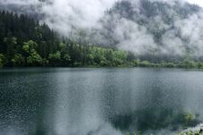 Free Mountains Forest And Lake Stock Photography - 17988992