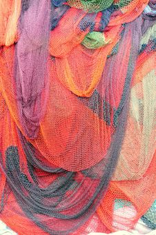 Free Fishing Nets Royalty Free Stock Photo - 17989295