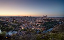 Free Toledo Sunset Royalty Free Stock Photo - 17989305