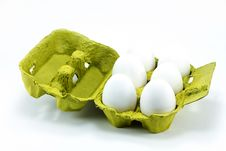 Free Eggs In The Box Royalty Free Stock Image - 17989596