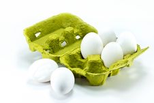 Free Eggs In The Box Royalty Free Stock Photos - 17989628