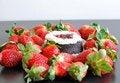 Free Strawberries And Cake Stock Photos - 17990753