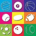 Free Sport Balls Stock Image - 17998131