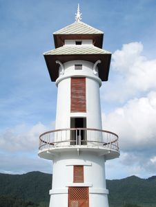 Free Thai Lighthouse Tower Stock Photography - 17990362