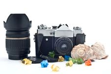 Free Analog Camera Royalty Free Stock Photography - 17990397