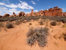 Free Arches National Park Stock Image - 17990531
