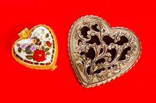 Free Valentine S  Cart Stock Photos - 17990773