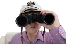 Free Strict Boy With Glasses Stock Photo - 17991160