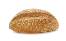 Free Bran Bread With Sesame Seeds Stock Photo - 17991210