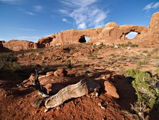 Free Arches National Park Stock Image - 17991401