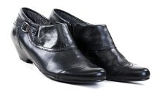 Free Pair Of Black Shoes Royalty Free Stock Photos - 17991608