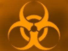 Free Bio Hazard Color Background Royalty Free Stock Photography - 17991757