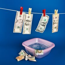 Free Money Laundering Stock Photo - 17992080