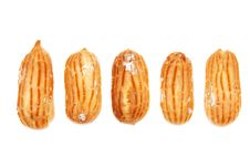 Free Delicious Eclairs Arranged Unlikely Stock Image - 17993141