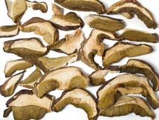 Free Dried Mushrooms Royalty Free Stock Photo - 17993385