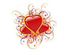 Free Hearts Stock Photography - 17994152