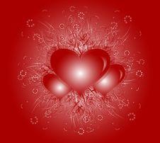 Free Hearts Royalty Free Stock Image - 17994186