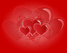 Free Hearts Stock Photography - 17994192