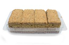 Tasty Four Cakes Isolated Over White Royalty Free Stock Image