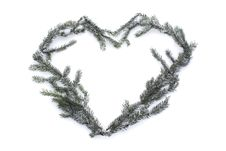 Free Heart On Snow Stock Image - 17994771
