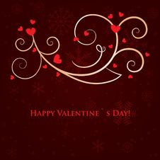 Free Abstract Valentines Background Stock Images - 17994934
