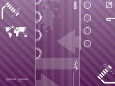 Free Technology Background Royalty Free Stock Image - 17995056