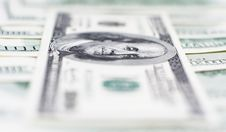 Free One Hundred Dollars Macro Stock Photo - 17995110