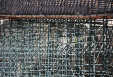 Free Scaffolding. Royalty Free Stock Photos - 17995418
