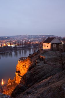View From Vysehrad