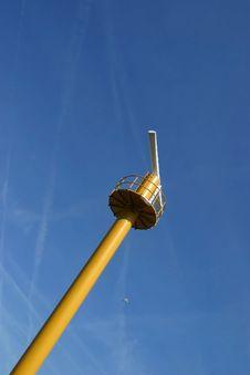 Free Radar Pylon In Harbour Royalty Free Stock Photography - 17996027