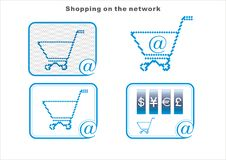 Free Shopping On The Network Stock Photography - 17997012