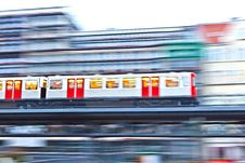 Free Train In Motion Stock Images - 17999144