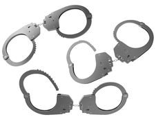 Free Police Handcuffs Royalty Free Stock Photos - 17999258