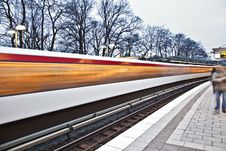 Free Train In Motion Royalty Free Stock Images - 17999329