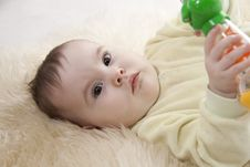 Free Baby. Stock Photography - 17999382