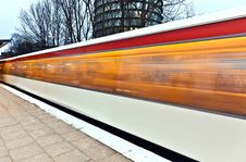 Free Train In Motion Royalty Free Stock Photo - 17999385