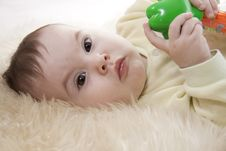 Free Baby. Royalty Free Stock Photos - 17999418