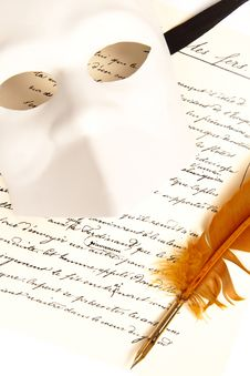 Letter Written By Feather