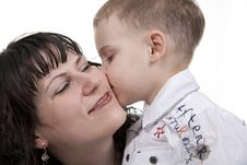Free Mother And Son. Royalty Free Stock Photography - 17999617