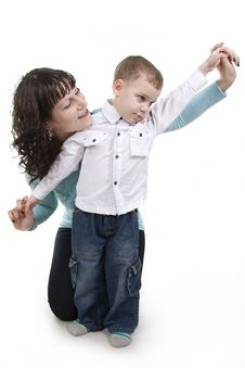 Free Mother And Son. Royalty Free Stock Photography - 17999697