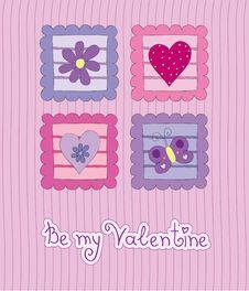 Free Valentine Card Stock Photography - 17999862