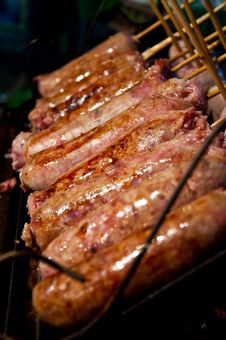 Free Sausage Royalty Free Stock Photos - 17999968