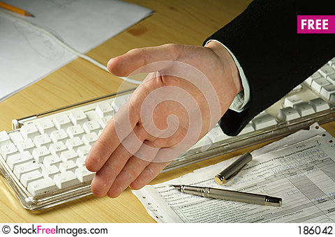 Free Business Handshake Stock Photography - 186042
