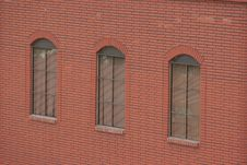 Free Brick Building With Window Views Royalty Free Stock Image - 180536