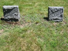 Free Mother And Father Gravestones Stock Photo - 181650