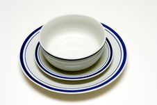 Free Plate, Saucer, And Bowl Royalty Free Stock Image - 182016