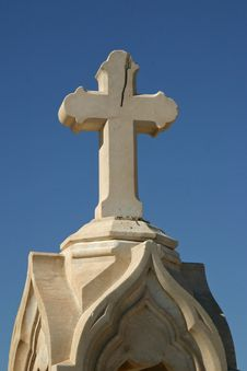 Free Cemetery Cross Royalty Free Stock Images - 185549