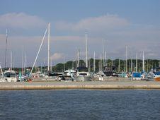 Free Docked Sailboats Stock Photos - 186773