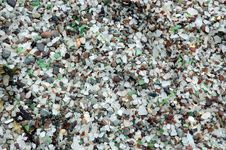 Free Glass Beach 1 Stock Image - 187741
