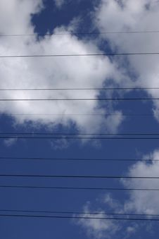 Free Power Lines Royalty Free Stock Photos - 188088